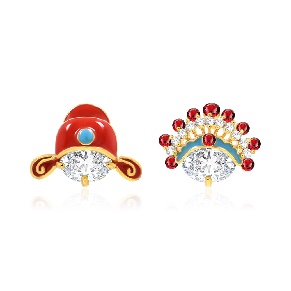 Manufacture Tradition Chinese Wedding Headdress Earrings