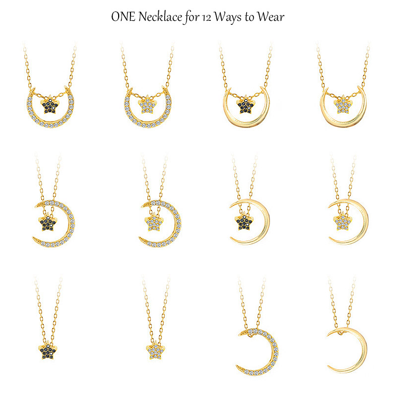 One Necklace For 12 Ways To Wear